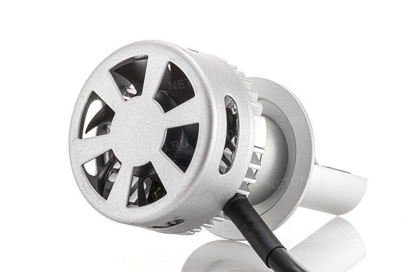 Свечение ламп H7-40W