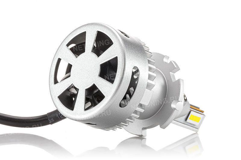 Свечение ламп D2S-40W