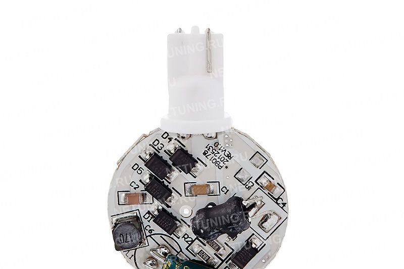 Светодиодная лампа W5W-10s50o с диодным мостом