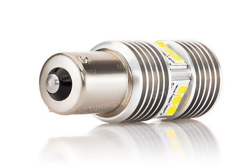 Алюминиевый корпус светодиодной лампы P21W-15s35