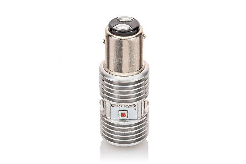 Светодиодная лампа P21/5W-6HL в упаковке