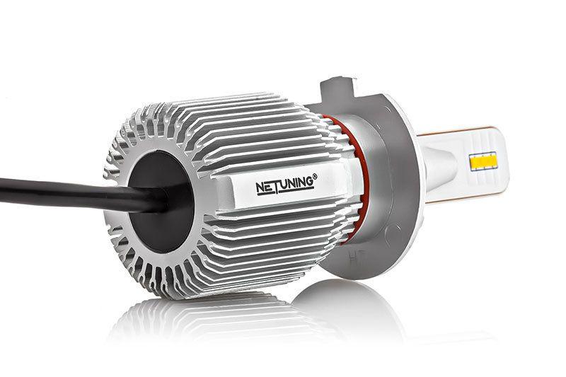 Радиатор H7-J2 сделан из алюминия
