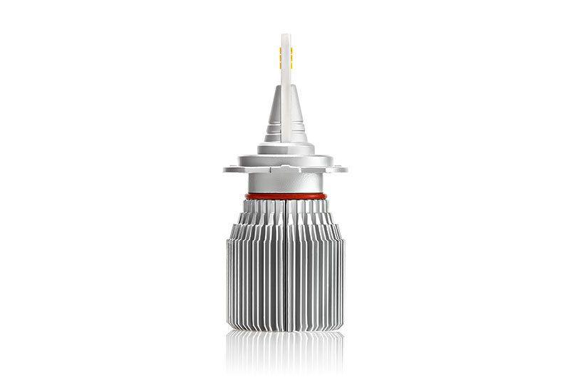 Светодиодная лампа H7-J2 в профиль