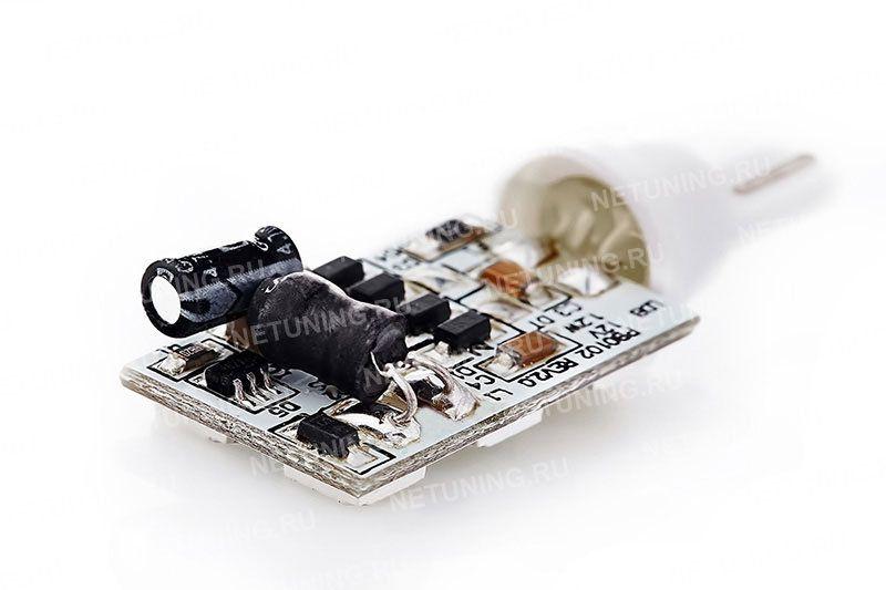 Светодиодная лампа W5W-6s50 неполярна