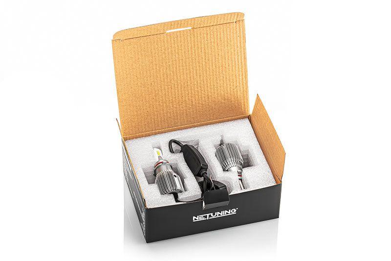 Внешний вид упаковки комплекта лед лампочек