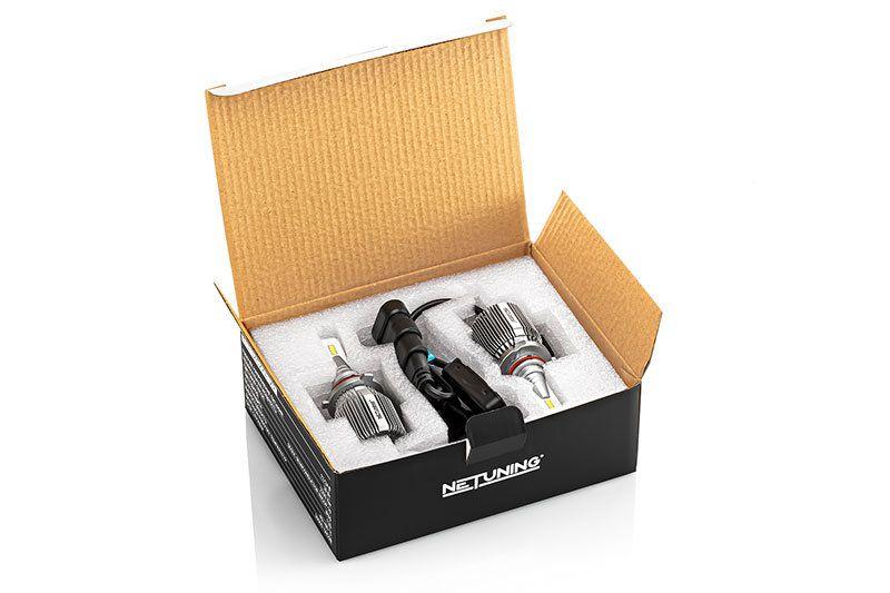 Внешний вид упаковки комплекта лед лампочек 9005 hb3