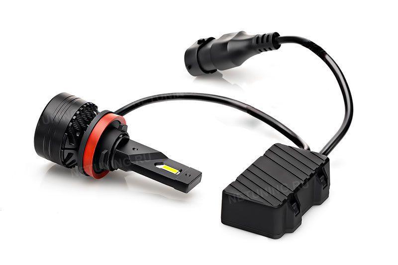 Мощность светодиодных ламп H9-45W равна мощности галогенных ламп