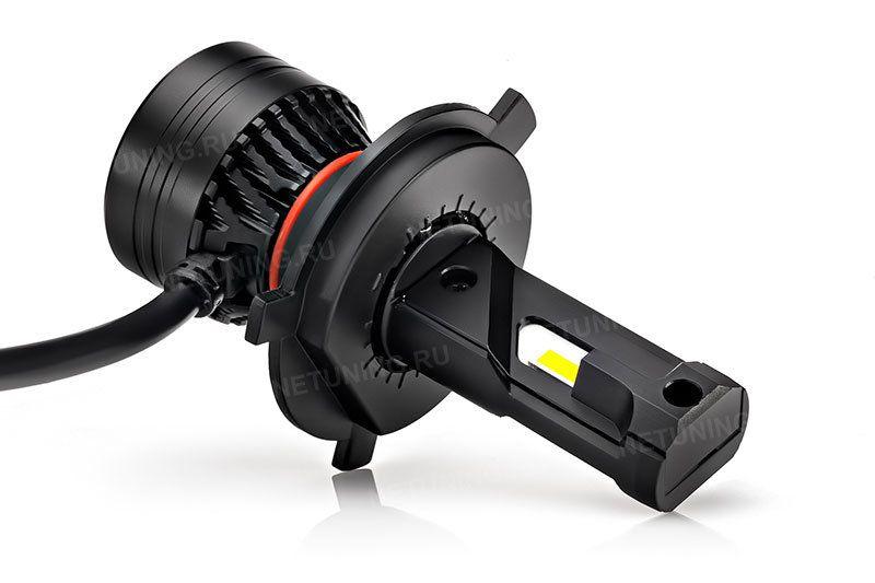 Светодиодные лампы H4-45W дают правильную светотеневую границу