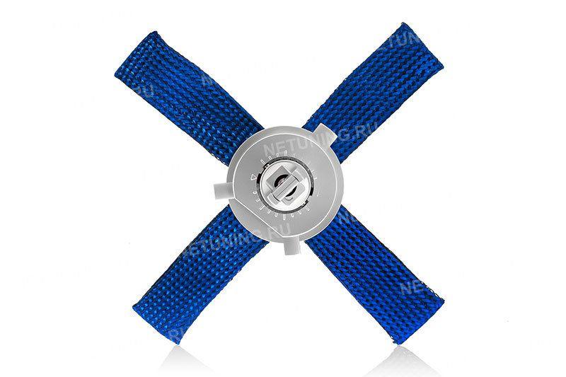 Расположение светодиодов на лампе h4 5s+