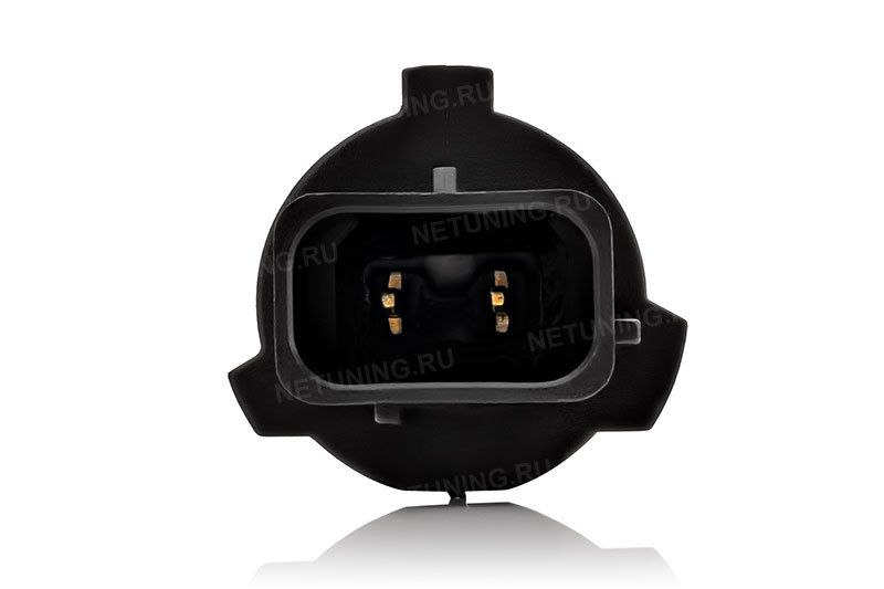Светодиодная лампа P13W-6CSP вид спереди