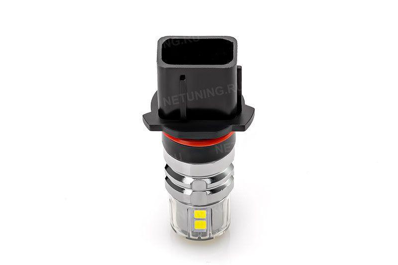 Светодиодная лампа P13W-12s30 потребляет в 3 раза меньше штатной