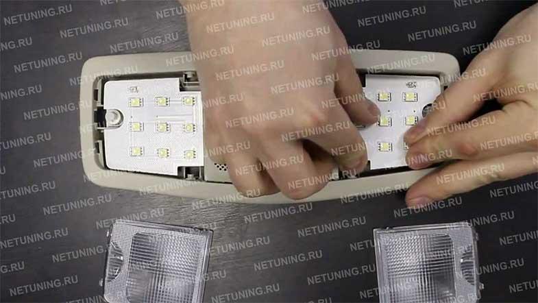 Набор светодиодных ламп NeTuning для Мицубиси