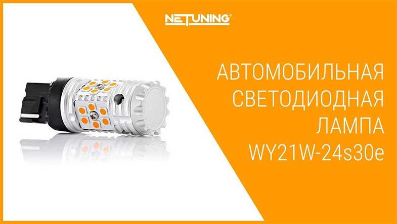 Светодиодная лампа NeTuning wy21w-24s30e
