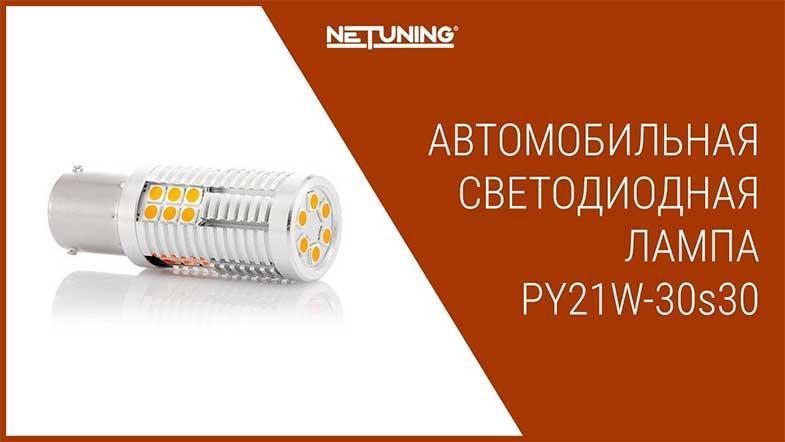 Светодиодная лампа NeTuning py21w-30s30