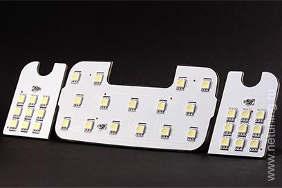как поменять лампочки в салоне киа рио 2013